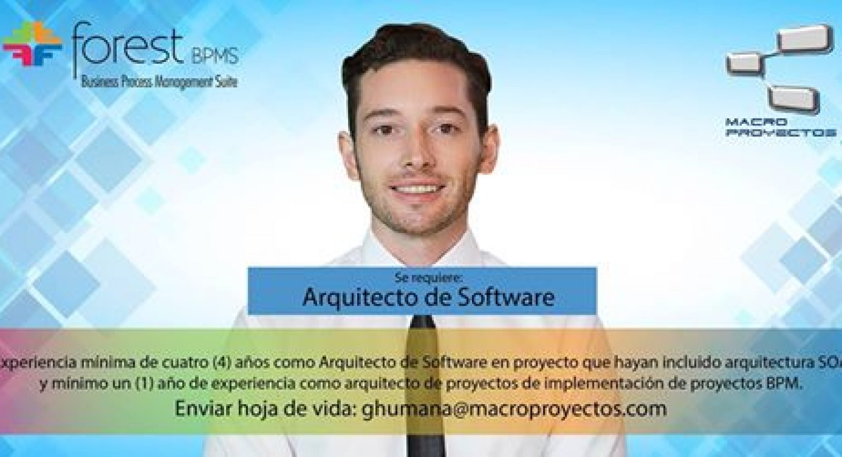 ARQUITECTO DE SOFTWARE