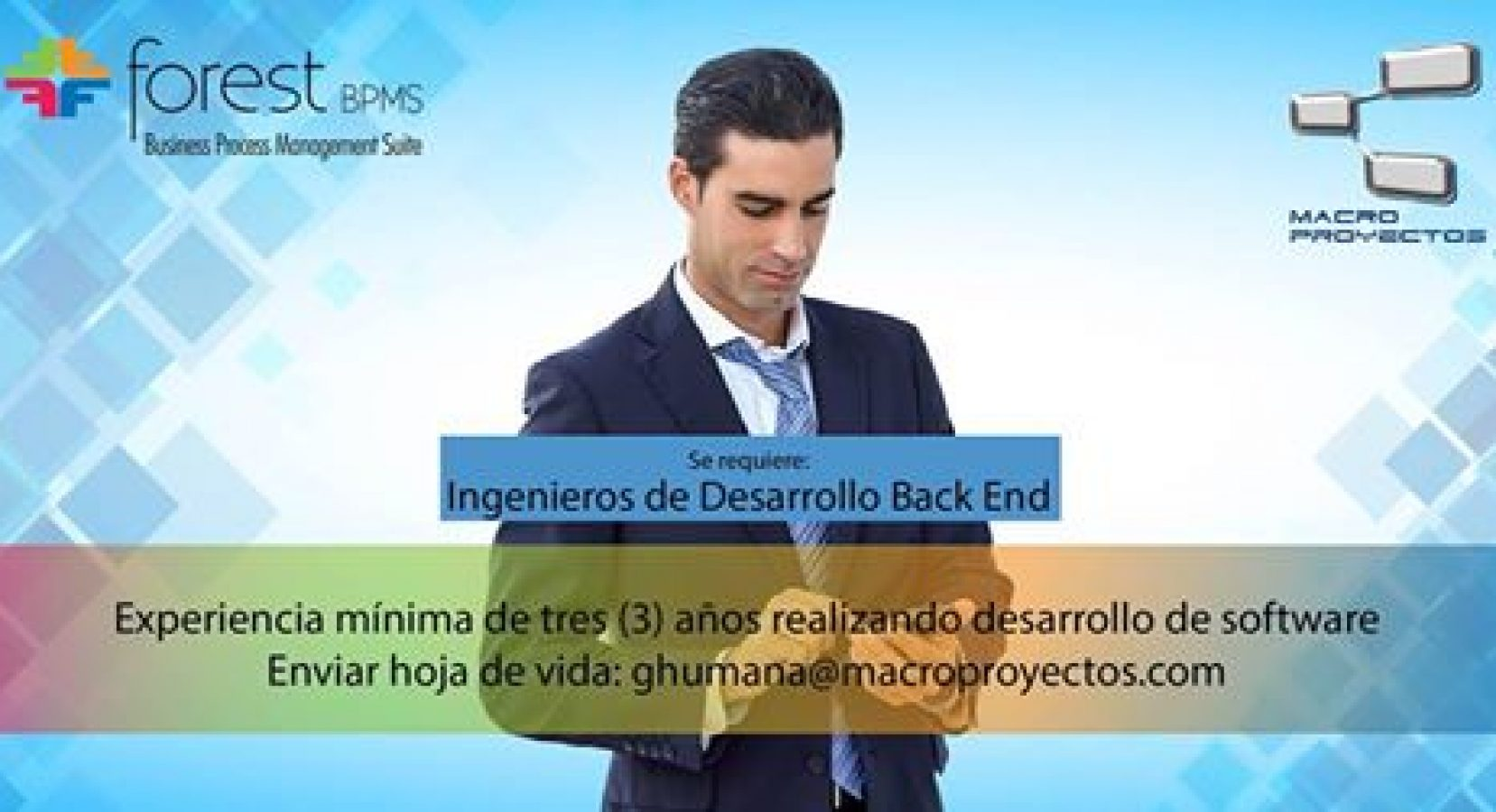 INGENIEROS DE DESARROLLO BACK END