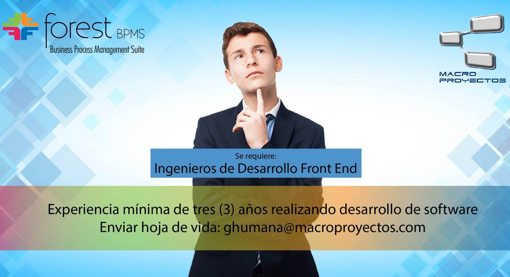 INGENIEROS DE DESARROLLO FRONT END